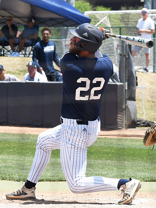 Griffin Paxton playing for UTSA against Rice on April 25, 2021, at Roadrunner Field. - photo by Joe Alexander