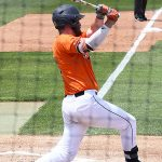 Griffin Paxton playing for UTSA against Old Dominion on May 8, 2021, at Roadrunner Field. - photo by Joe Alexander