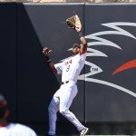 Ian Bailey playing for UTSA against Middle Tennessee on April 10, 2021, at Roadrunner Field. - photo by Joe Alexander