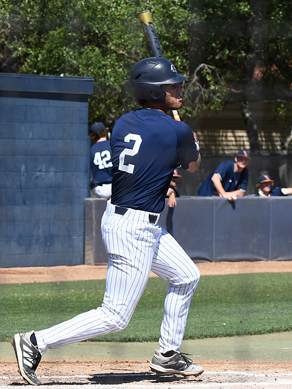 Joshua Lamb playing for UTSA against Middle Tennessee on April 11, 2021, at Roadrunner Field. - photo by Joe Alexander