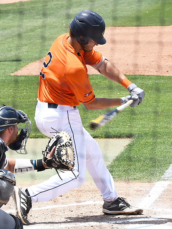 Joshua Lamb playing for UTSA against Old Dominion on May 8, 2021, at Roadrunner Field. - photo by Joe Alexander