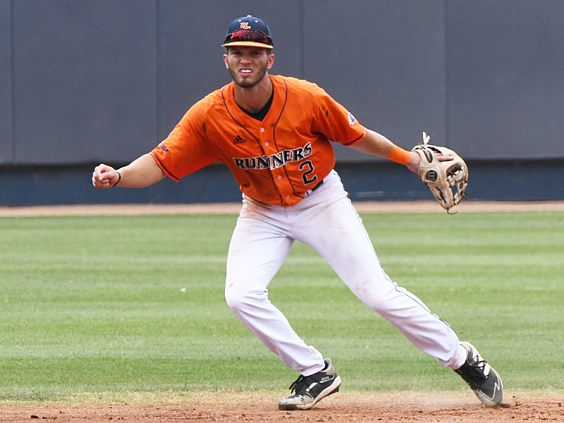 Joshua Lamb playing for UTSA against Old Dominion on May 9, 2021, at Roadrunner Field. - photo by Joe Alexander