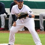 Kyle Overstreet playing for the San Antonio Missions against the Frisco RoughRiders on May 18, 2021, at Wolff Stadium. - photo by Joe Alexander
