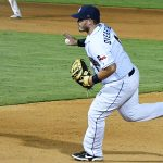 Kyle Overstreet playing for the San Antonio Missions against the Northwest Arkansas Naturals on June 16, 2021, at Wolff Stadium. - photo by Joe Alexander