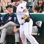 Kyle Overstreet playing for the San Antonio Missions against the Northwest Arkansas Naturals on June 19, 2021, at Wolff Stadium. - photo by Joe Alexander