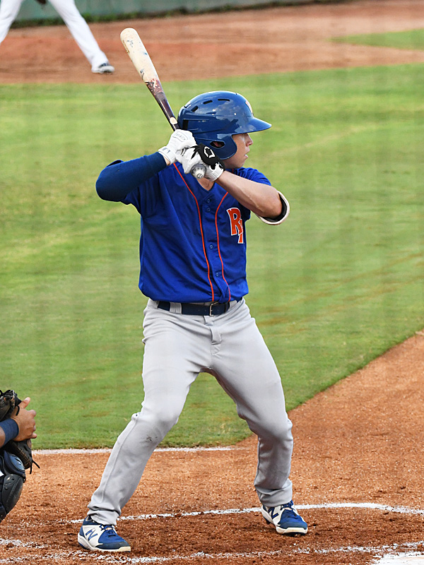 Nick Allen, a member of the U.S. Olympic baseball team, playing for the Midland RockHounds against the San Antonio Missions on Wednesday, June 9, 2021, at Wolff Stadium. - photo by Joe Alexander