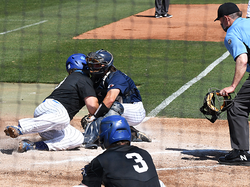 Nick Thornquist playing for UTSA against Middle Tennessee on April 11, 2021, at Roadrunner Field. - photo by Joe Alexander