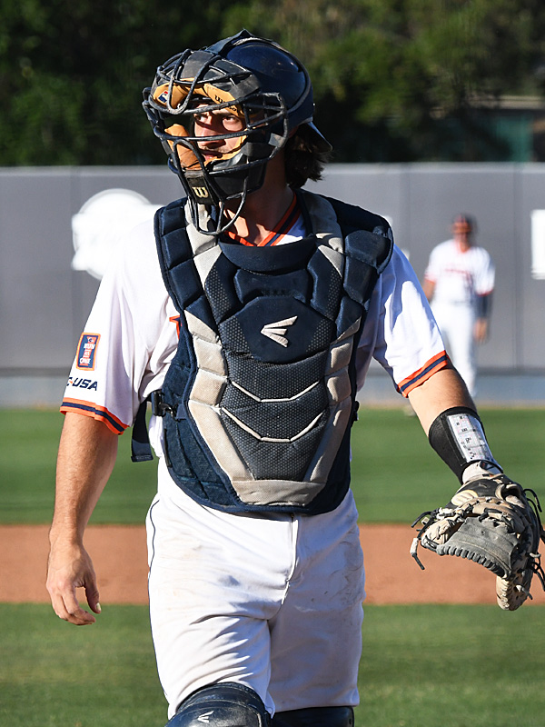 Nick Thornquist playing for UTSA against Rice on April 24, 2021, at Roadrunner Field. - photo by Joe Alexander