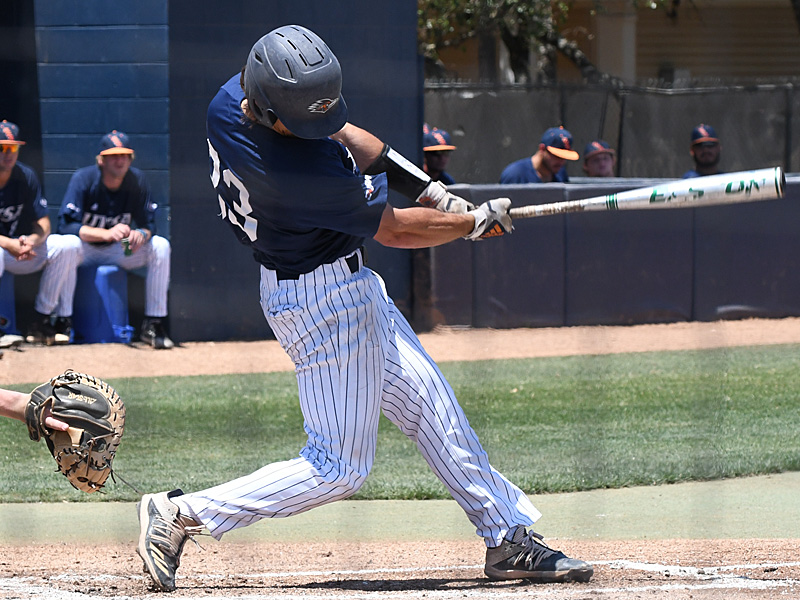 Nick Thornquist playing for UTSA against Rice on April 25, 2021, at Roadrunner Field. - photo by Joe Alexander