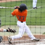 Nick Thornquist playing for UTSA against Old Dominion on May 9, 2021, at Roadrunner Field. - photo by Joe Alexander