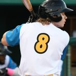 Jack Suwinski tripled and scored the Missions' final run in the eighth inning. The San Antonio Missions beat the Midland RockHounds 5-4 Thursday at Wolff Stadium. - photo by Joe Alexander