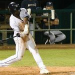 Dwanya Williams-Sutton had two hits and drove in two runs. The San Antonio Missions beat the Northwest Arkansas Naturals 6-5 on Saturday at Wolff Stadium. - photo by Joe Alexander