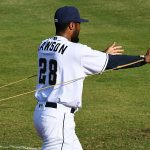 San Antonio Missions pitcher and San Diego Padres prospect Reggie Lawson played in his first game of the season when he started against the Midland RockHounds on Wednesday, June 9, 2021, at Wolff Stadium. - photo by Joe Alexander