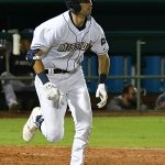 Ben Ruta made his San Antonio Missions debut and played left field in Tuesday's victory over the Amarillo Sod Poodles at Wolff Stadium. - photo by Joe Alexander