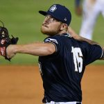 Mason Fox was the first pitcher out of the San Antonio Missions bullpen on Friday at Wolff Stadium. - photo by Joe Alexander
