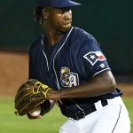 Henry Henry pitched a scoreless inning in relief for the Missions on Friday at Wolff Stadium. - photo by Joe Alexander
