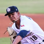 San Antonio Missions starter Osvaldo Hernandez pitched six scoreless innings on Saturday at Wolff Stadium. - photo by Joe Alexander