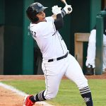Yorman Rodriguez had three hits and scored two of the San Antonio Missions' three runs on Saturday at Wolff Stadium. - photo by Joe Alexander
