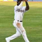 Olivier Basabe started his third straight game at second base for the San Antonio Missions and brought in the final run of the game with a bunt on Saturday at Wolff Stadium. - photo by Joe Alexander