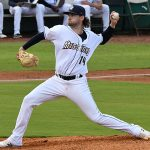 San Antonio Missions starter Aaron Leasher pitched six innings and allowed one run as the San Antonio Missions beat the Amarillo Sod Poodles 5-4 in 10 innings on Tuesday at Wolff Stadium. - photo by Joe Alexander