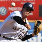 San Antonio Missions starter Adrian Martinez got the win against the Springfield Cardinals in the first game Saturday at Wolff Stadium. - photo by Joe Alexander