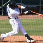 Eguy Rosario homered for the first run of the day in the San Antonio Missions' sweep of the Springfield Cardinals on Saturday at Wolff Stadium. - photo by Joe Alexander