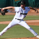 San Antonio Missions starter Ethan Elliott pitched 4.0 innings and allowed two earned runs on five hits with six strikeouts on Sunday at Wolff Stadium. - photo by Joe Alexander