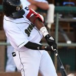 San Antonio Missions left fielder Esteury Ruiz homered in his first at-bat after returning from an injury on Sunday at Wolff Stadium. - photo by Joe Alexander