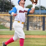 Rody Barker. The Flying Chanclas de San Antonio beat the Brazos Valley on Wednesday in the Texas Collegiate League playoffs to clinch a spot in the championship game. - photo by Joe Alexander