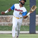 Ian Bailey. The Flying Chanclas de San Antonio beat the Brazos Valley on Wednesday in the Texas Collegiate League playoffs to clinch a spot in the championship game. - photo by Joe Alexander