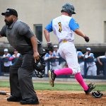 Justin Thompson. The Flying Chanclas de San Antonio beat the Brazos Valley on Wednesday in the Texas Collegiate League playoffs to clinch a spot in the championship game. - photo by Joe Alexander
