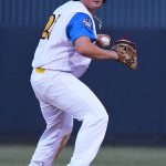 Ryan Flores. The Flying Chanclas de San Antonio beat the Brazos Valley on Wednesday in the Texas Collegiate League playoffs to clinch a spot in the championship game. - photo by Joe Alexander