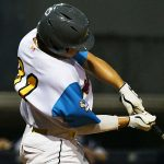 Marcos Villegas. The Flying Chanclas de San Antonio beat the Brazos Valley on Wednesday in the Texas Collegiate League playoffs to clinch a spot in the championship game. - photo by Joe Alexander