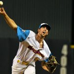 Connor Schmidt. The Flying Chanclas de San Antonio beat the Brazos Valley on Wednesday in the Texas Collegiate League playoffs to clinch a spot in the championship game. - photo by Joe Alexander