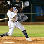 Michael Curry had two hits for the San Antonio Missions on Tuesday at Wolff Stadium. - photo by Joe Alexander