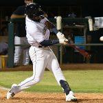 San Antonio Missions' third baseman Allen Cordoba extended his hitting streak to 10 games on Tuesday at Wolff Stadium. - photo by Joe Alexander