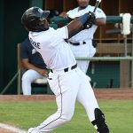 Olivier Basabe had two hits in the San Antonio Missions' loss to the Corpus Christi Hooks on Friday at Wolff Stadium. - photo by Joe Alexander