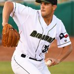 San Antonio Missions reliever James Reeves pitched two scoreless innings Sunday at Wolff Stadium. - photo by Joe Alexander