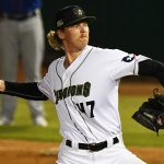 Sam McWilliams pitched two innings in relief and earned his first win with the San Antonio Missions on Wednesday at Wolff Stadium. - photo by Joe Alexander