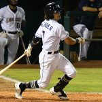 The San Antonio Missions scored two runs on Ethan Skender's fifth-inning hit and an error on Tuesday at Wolff Stadium. - photo by Joe Alexander