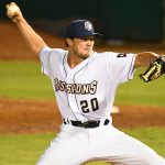 Kevin Kopps, a 2021 San Diego Padres draft pick and former Arkansas star, made his San Antonio Missions debut on Wednesday at Wolff Stadium. - photo by Joe Alexander