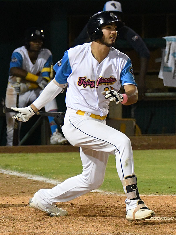 Agustin Ruiz hit his fourth home run as a member of the San Antonio Missions on Thursday at Wolff Stadium. - photo by Joe Alexander
