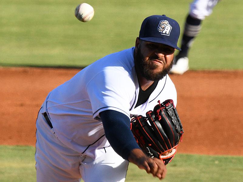 San Antonio Missions starter Pedro Avila pitched four innings on Sunday at Wolff Stadium. - photo by Joe Alexander