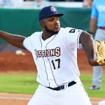 Carlos Belen was the San Antonio Missions' starting pitcher on Tuesday at Wolff Stadium. - photo by Joe Alexander