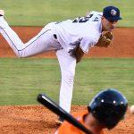 Tyler Viza was the San Antonio Missions' starting pitcher on Wednesday at Wolff Stadium. - photo by Joe Alexander