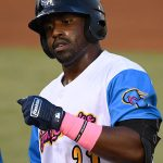 Dwayna Williams-Sutton started the San Antonio Missions' second-inning rally with a single and scored their first run on Thursday at Wolff Stadium. - photo by Joe Alexander