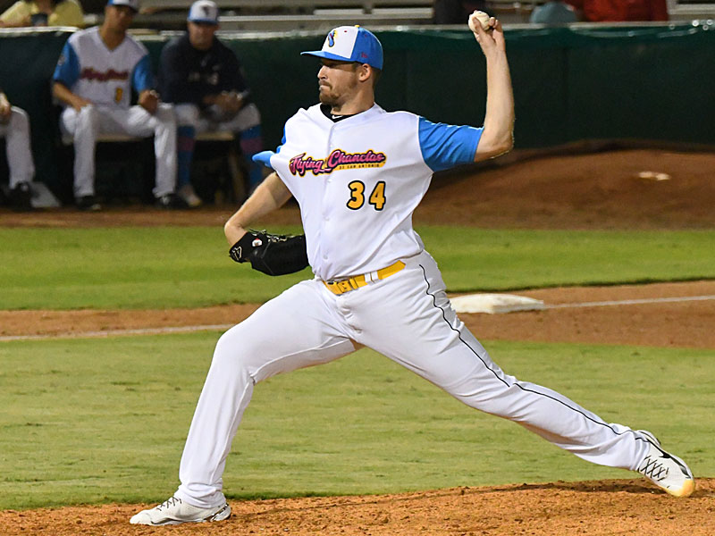 San Antonio Missions starter Jerry Keel pitched six innings on Thursday at Wolff Stadium. - photo by Joe Alexander
