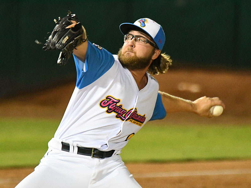 San Antonio Missions reliever Sam Williams got the win on Thursday at Wolff Stadium. - photo by Joe Alexander