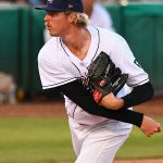 Sam McWilliams pitched in relief for the San Antonio Missions on Sunday at Wolff Stadium. - photo by Joe Alexander